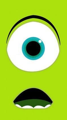 Monsters University Mike Wazowski - The iPhone Wallpapers