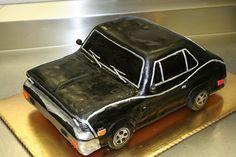 @KatieSheaDesign ♡❤ ❥ @dessertsbydana #black car cake