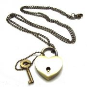 Heart Lock Necklace - RM25