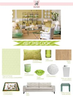 Home-Styling   Ana Antunes: Get The Look #002 * Copia O Estilo #002 - Tropical Lime Elegance