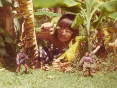 A wonderful vintage photosubmission to the blog, Mego dolls and imagination baby.