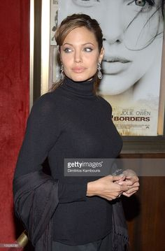 Angelina Jolie during World Premiere of 'Beyond Borders' - Inside Arrivals at The Ziegfeld Theatre in New York City, New York, United States.