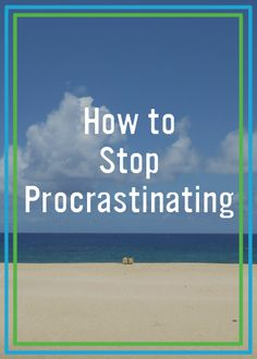 Starting something like a weight-loss journey can be difficult, and procrastination can be a large part of it. These tips can help you stop procrastination in its tracks so you can begin achieving your goals.