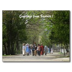 Pioneer Village, Toronto Tourism Postcard - from my own photograph