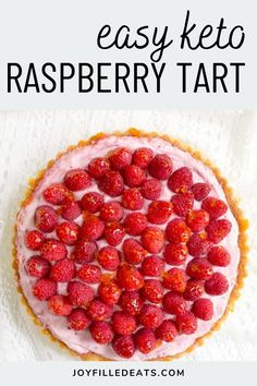 This Raspberry Mousse Tart is light and fruity with the tartness of fresh raspberries and richness of the mousse. It is a great dessert for the summer or any other time of the year. This easy recipe is low carb, keto, gluten-free, grain-free, sugar-free, and Trim Healthy Mama friendly.