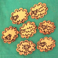 Decorated cookies  #glutenfree #sheep