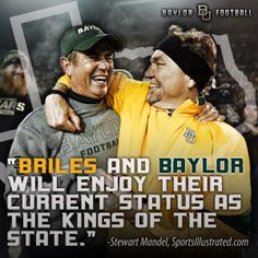 #Baylor Football is #BestInTexas. #SicEm