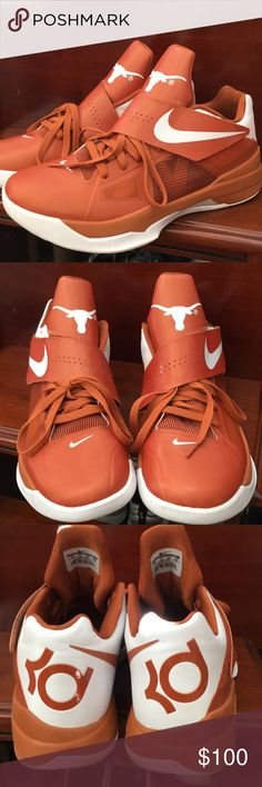 new concept 62bce 0287f Nike KD Limited edition Texas Longhorn. Nike Shoes Sneakers