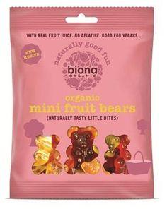 Biona Mini hedelmänallet ei valkoista sokeria tai liivatetta karkit ekolo ekokauppa