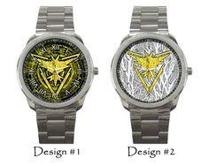Team Instinct Pokemon Go Wristwatch Costume Sport Metal Watches via Greatest…