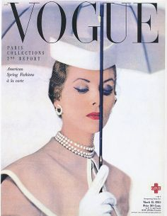 Vogue MAR.15 1950 BLUMENFELD