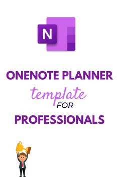 Free OneNote Planner Template for Professionals - The Better Grind Work Planner, Student Planner, Planner Organization, School Organization, One Note Tips, One Note Microsoft, Microsoft Excel, Microsoft Office, Professional Development Goals