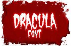 Image result for horror fonts