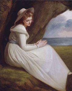Emma Hart as Ariadne - George Romney 1785