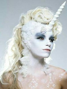 Best representation descriptions: Unicorn Halloween Costume Makeup Related searches: DIY Easy Little Girl Unicorn Makeup,Really Easy Unicor. Fantasy Make Up, Fantasy Hair, Unicorn Fantasy, Unicorn Halloween Costume, Halloween Make Up, Halloween Costumes, Fish Costume, Fairy Costumes, Vintage Halloween