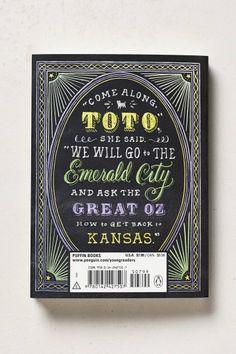 The Wizard Of Oz - anthropologie.com