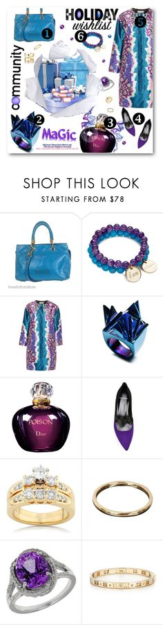 """Wish List"" by meyli-meyli ❤ liked on Polyvore featuring Marc by Marc Jacobs, Mary Margrill, Peter Pilotto, Eddie Borgo, Christian Dior, Pierre Hardy, Kobelli, Van Cleef & Arpels, Lord & Taylor and Tiffany & Co."