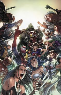 Marvel vs Capcom by Alvin Lee *