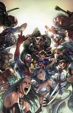 Marvel vs Capcom by Alvin Lee *
