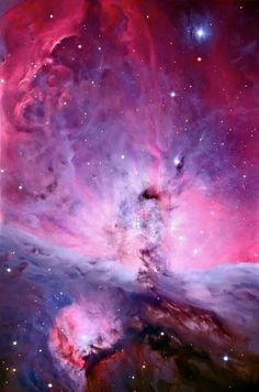 Centre of the Orion Nebula