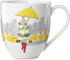 kate spade new york Illustrated Mug, Created for Macy's