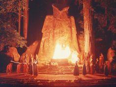 Cremação de cerimónia de Cuidados