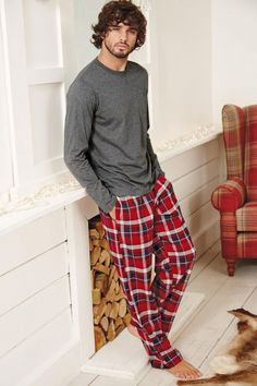 Marlon Teixeira Models Leisure Wear for Next
