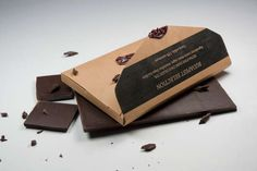 Delicious Postcard Packaging : Post Chocolate