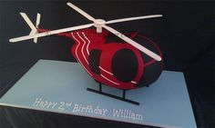 Personalised Novelty, Celebration and Wedding Cakes for that special occasion made to your requirements by award winning Cake Artist and Qualified Chef. Boys Bday Cakes, Cakes For Boys, Birthday Cakes, Helicopter Cake, Happy 2nd Birthday, Cakes And More, Special Occasion, Wedding Cakes, Christmas Ornaments