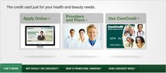 CareCredit for easy patient financing