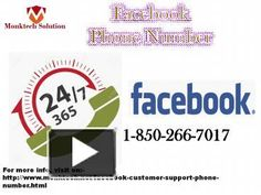 Can I call at Facebook Phone number to get the facility to share my troubles? 1-850-266-7017