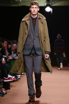 Kolor Menswear Fall Winter 2015 Paris