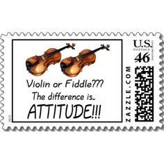 Postage stamps - I think my daughters orchestra teacher would love this...