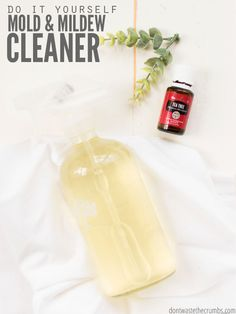 Cleaning How to Get the Smell Out of Towels Homemade Bathroom Scrub Homemade Bleach Alternative Harmful Household Cleaners to Avoid More Cleaning --> essential oils How to Get Rid of Mold and Mildew Naturally DIY Owie