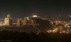 Alcazaba, Ermita Veracruz y Real Colegiata, espectacular.Antequera.