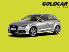 Audi A3 Sportback ¡Puede alquilarlo en cualquiera de las 52 oficinas de Goldcar!