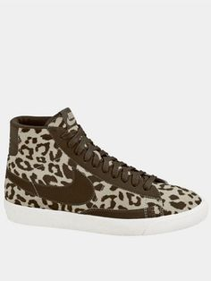low priced c8c91 c1c43 Nike Blazer Mid Animal Print Boots No I dont do these booty type thingy  majiggies but I would totally consider these. Love animal print!