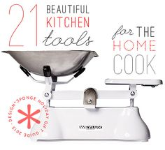 Gift Guide 2013: Kitchen Tools for The Home Cook - Design*Sponge