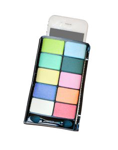 iPhone Case Eyeshadow Cell Phone Case  Fits by TheCuriousCaseLLC, $20.00
