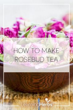 How to Make Rosebud Tea and Delight Your Heart Medicine Garden, Herbal Medicine, Yummy Drinks, Healthy Drinks, Healthy Recipes, Herbs For Health, Healing Herbs, Natural Healing, Infused Oils