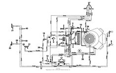wiring diagram mtd lawn tractor wiring diagram and by mtd 145u836h190  garden tractor gt 185 1995 parts diagram
