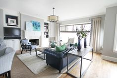 Living Spaces - eclectic - living room - charlotte - Lucy and Company