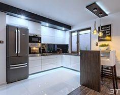 Aranżacje wnętrz - Kuchnia: Zabudowa meblowa kuchni - Kuchnia, styl nowoczesny - 3TOP Meble. Przeglądaj, dodawaj i zapisuj najlepsze zdjęcia, pomysły i inspiracje designerskie. W bazie mamy już prawie milion fotografii!