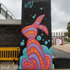 Urban Art a la cARTe: Street Art by Bunny Boiler (7) - Hype Fest 2016 Street Art London, Weston Super Mare, Bethnal Green, 4th Street, Brick Lane, Croydon, Art Uk, Gloucester, Boiler