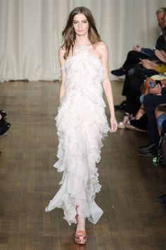 Marchesa Spring 2015. See all the best looks from London Fashion Week here.