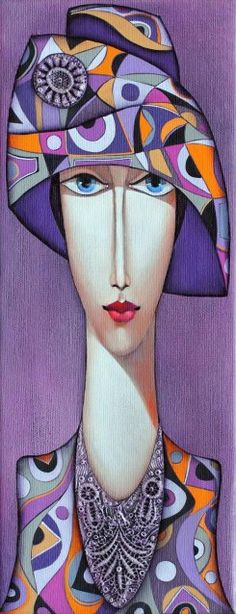 "Wlad Safronov - ""Lady with Hat 2"""