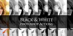 Efectos blanco y negro PSD