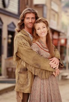 "Jane Seymour as Michaela ""Mike"" Quinn  on Dr. Quinn, Medicine Woman"