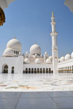 Sheikh Zayed Grand Mosque Abu Dhabi Emirates