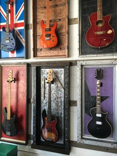 GFrames.com #guitardisplay #guitarframe #guitarcase